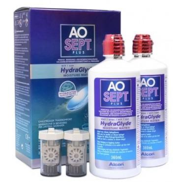 Aosept Plus Hydraglyde - 2 x 360ml. od www.intersoczewki.pl