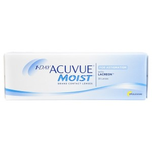 1-Day Acuvue Moist for Astigmatism 30-pack