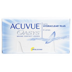 Acuvue Oasys contact lenses (6-pack)