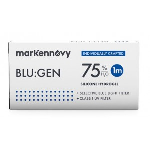 Blu:gen contact lenses 1-pack