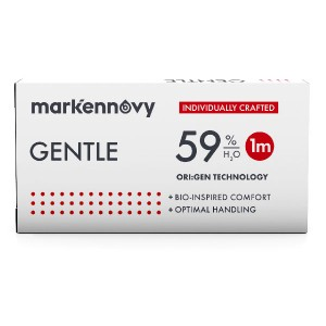Gentle 59 contact lenses 6-pack
